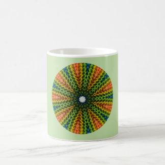 Geometric Colors Fractal Coffee Mug