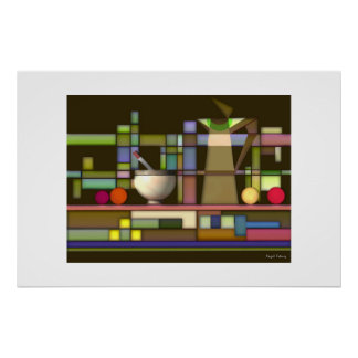 Geometric Composition Poster