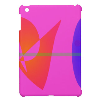 Geometric Contrast Pink Case For The iPad Mini