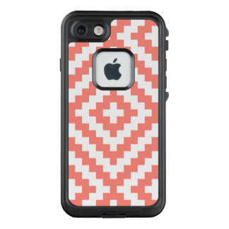 Geometric Coral LifeProof FRĒ iPhone 7 Case