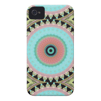 Geometric cover for iPhone printed