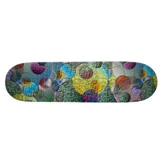 Geometric Craters Skateboard