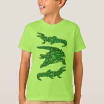 Geometric Crocodiles T-Shirt