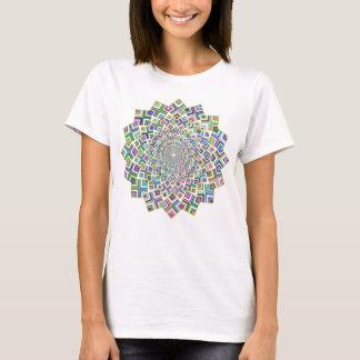Geometric Cyclone T-Shirt