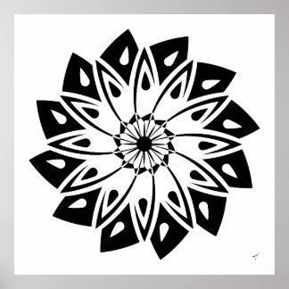 Geometric Daisy, Poster