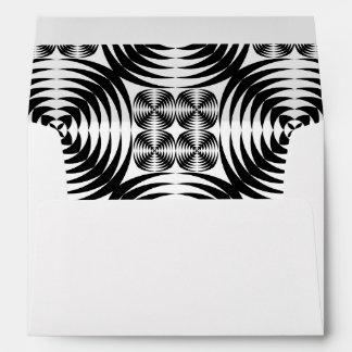 Geometric damask envelope