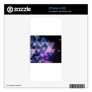 Geometric Decal For The iPhone 4
