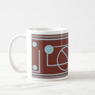 Geometric deco mug
