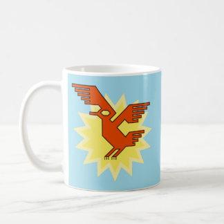 Geometric Decorative Andean Condor Bird Coffee Mug