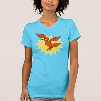 Geometric Decorative Andean Condor Bird T-Shirt