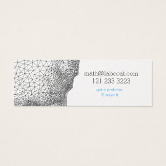 Geometric design business card for anyone