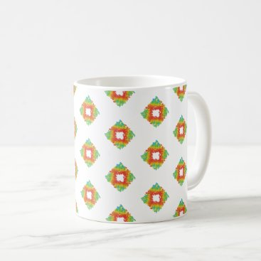 Halloween Themed Geometric Design Mug