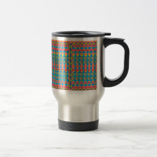Geometric Design Coffee Mug