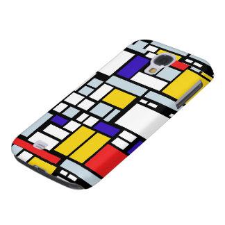 Geometric Design, Primary Colors Samsung Galaxy S4 Case