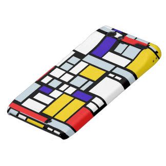 Geometric Design, Primary Colors Motorola Droid RAZR Cases