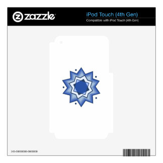 GEOMETRIC DESIGN iPod TOUCH 4G DECAL