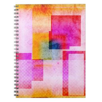 Geometric Design Spiral Notebook