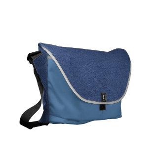 Geometric Diamond Handbag in Blue Courier Bags