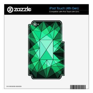 Geometric Diamond Jewel iPod Touch (4th Gen) Skin Skin For iPod Touch 4G