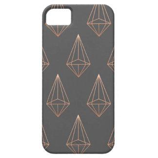 Geometric Diamond phone case