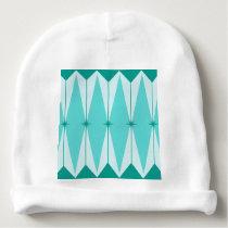 Geometric Diamonds & Starbursts Baby Hat