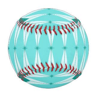 Geometric Diamonds & Starbursts Baseball