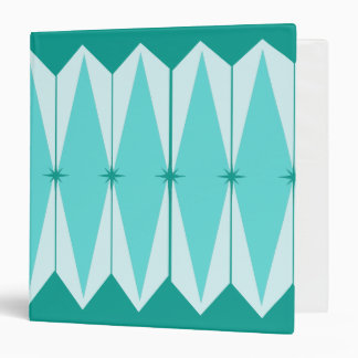 Geometric Diamonds & Starbursts Binder
