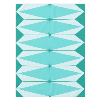 Geometric Diamonds U0026amp; Starbursts Tablecloth