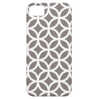 Geometric Driftwood Brown Iphone 5 Case