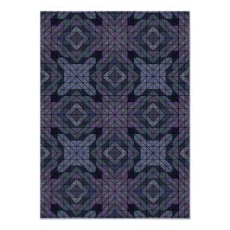 Geometric dusk card