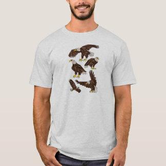Geometric Eagles T-Shirt