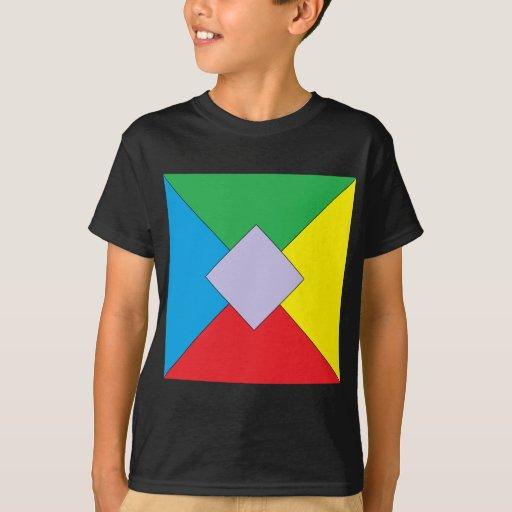 Geometric Elements Kids T-shirt