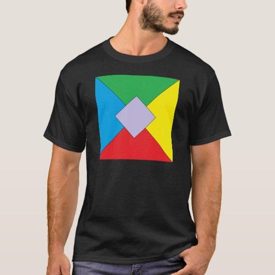 Geometric Elements Mens T-shirt