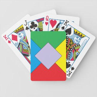 Geometric Elements Poker Cards