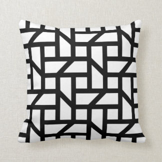 Geometric fashion for the home pillow