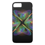 Geometric figure of colorful circles. iPhone 8/7 case