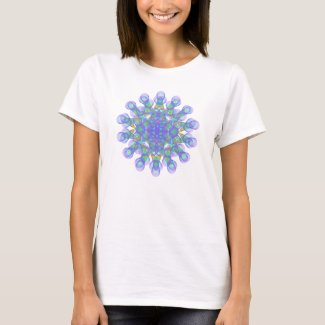 Geometric figure of colorful circles T-Shirt