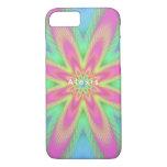 Geometric figures like petals. iPhone 8/7 case