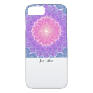 Geometric flower iPhone 8/7 case