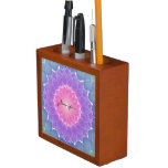 Geometric flower desk organizer