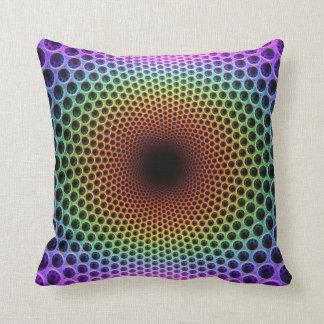 Geometric Fractal Pattern Pillow