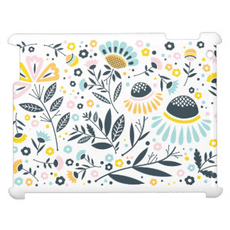 Geometric Garden Floral Pastel Case For The iPad 2 3 4