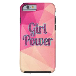 Geometric Girl Power iPhone Case Tough iPhone 6 Case