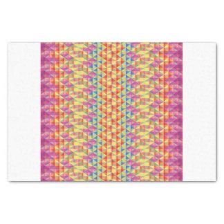 "Geometric Girl Tissue Paper 10"" X 15"" Tissue Paper"