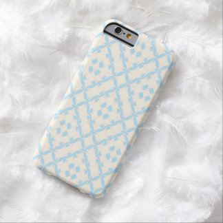 Geometric girly pastel blue Ⅱ Barely There iPhone 6 Case