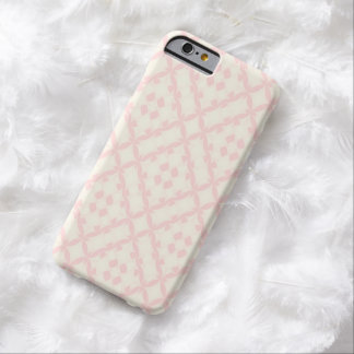 Geometric girly pastel pink Ⅱ Barely There iPhone 6 Case