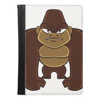 geometric gorilla.cartoon gorilla iPad air case