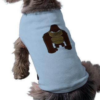 geometric gorilla.cartoon gorilla shirt