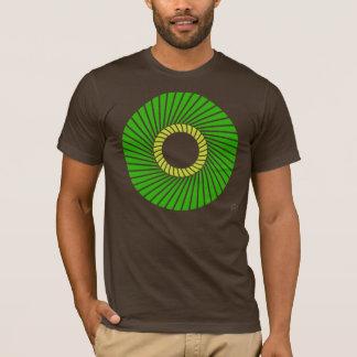Geometric Green T-Shirt