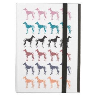 Geometric Greyhounds iPad Case